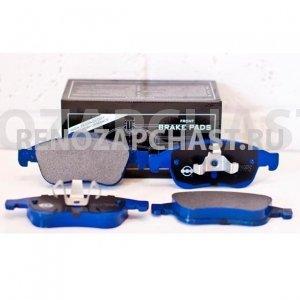 колодки тормозные передние renault megane 3 fluence duster, аналог, 410607115r