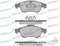 колодки тормозные передние рено megane iii / fluence, 08-, duster мотор 1.5dci, 1.6/16v