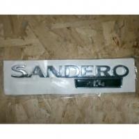 эмблема крышки багажника renault sandero, оригинал,