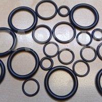комплект уплотнительных колец кондиционера renault megane 2 scenic 2, аналог, 7701207465, цена за шт.