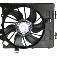 диффузор вентилятора охлаждения в сборе renault megane 2 scenic 2, аналог, 7701054967+7701071862