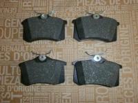 колодки тормозные задние renault megane 2 scenic 2 megane 3 fluence, оригинал, 440605713r 440605839r