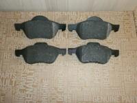 колодки тормозные передние megane 03, scenic 03, laguna 01, оригинал 7701206598