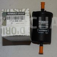 фильтр топливный renault logan clio megane kangoo duster, оригинал, 7700845961