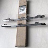 накладка на решетку радиатора хром renault logan 2 sandero 2, 17-, оригинал,620729869r, цена за комплект