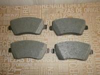 колодки тормозные передние renault  duster lada largus logan mpv, оригинал, 410608481r