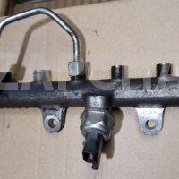 рампа топливная renault мотор к9к, оригинал, 9144а221а, б.у.