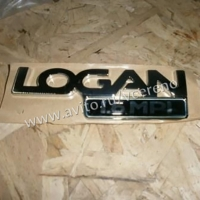 эмблема крышки багажника renault logan, оригинал, 6001548303
