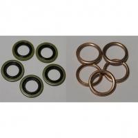 кольцо уплотнительное сливной пробки мотор k4,f4, аналог, 8200641648