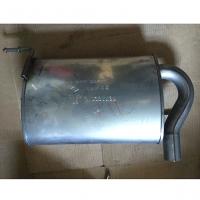 глушитель задняя часть renault duster, оригинал, 200105170r 201003546r
