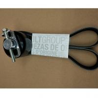 комплект приводного ремня мотор h4, оригинал, 117201618r