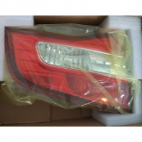 фонарь задний на крышку багажника левый renault koleos, аналог, 26555jy05a