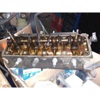 головка блока цилиндров мотор c1 c2, оригинал, 7701462470, б.у.