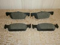 колодки тормозные передние renault logan 2 sandero 2 clio 4, оригинал, 410602581r