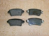 колодки тормозные задние renault master 2, аналог, 7701206763