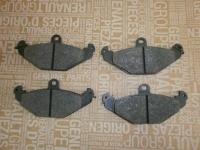 колодки тормозные задние laguna 98, esspace 96, safrane, аналог 7701203726