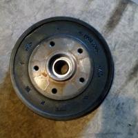 барабан тормозной renault duster, 4x2, оригинал, 432007075r