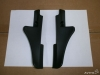 Накладка петли капота правая левая Renault Duster, оригинал, 668220005R 668220006R, цена за шт.