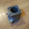 Патрубок дроссельной заслонки Renault Logan 2 Sandero  2, оригинал, 165785537R