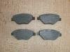 Колодки тормозные передние Megane 03, аналог 410609192R
