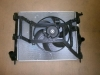 Вентилятор охлаждения в сборе (с 2008 года) без кондиционера аналог 8200779073